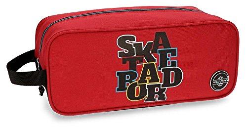 Movom Skateboard Bolsa de Viaje, 34 cm, 7.14 Litros, Rojo