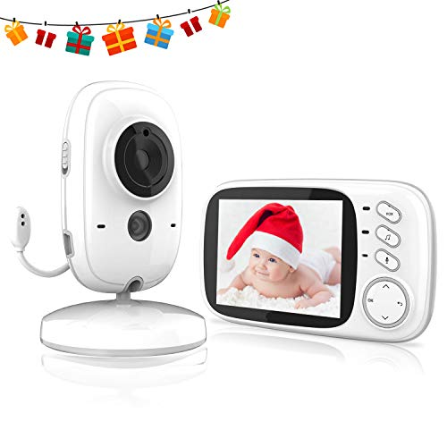 Nachtsicht 720p HD-Aufl/ösung Zus/ätzliche Kameraeinheit f/ür KYG-Babyphone einfaches Pairing