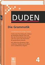 Die Grammatik: Unentbehrlich für richtiges Deutsch