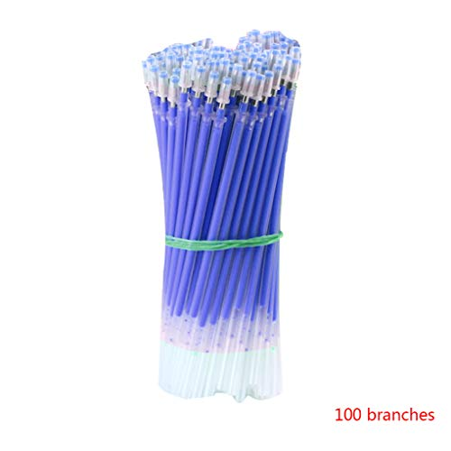 100pcs 6 Farben Gel Pen Refill der Schule Kugelschreiber-Mine 1mm Typ Kugelschreiber Glatt Refills Students Briefpapier School Supplies