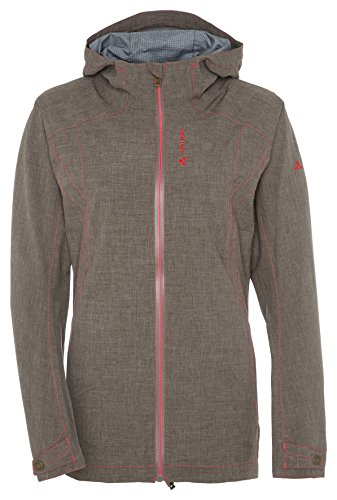 VAUDE women's tencia jacket veste Marron - Coconut
