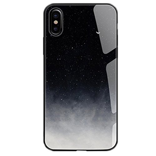 UMCCC Handy-Fall Iphonex Ausgeglichenes Glas Anti-Fall-Mode-Kalter Wind (Vuitton Samsung Louis Fall)