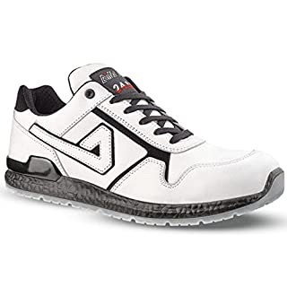 Aimont, Wayne 24Bit safety shoes, white, S 3 White Size: 41 EU