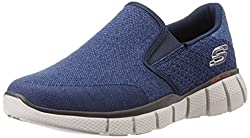 Skechers Mens Equalizer 2.0 Navy Nordic Walking Shoes - 9 UK/India (43 EU)(10 US)