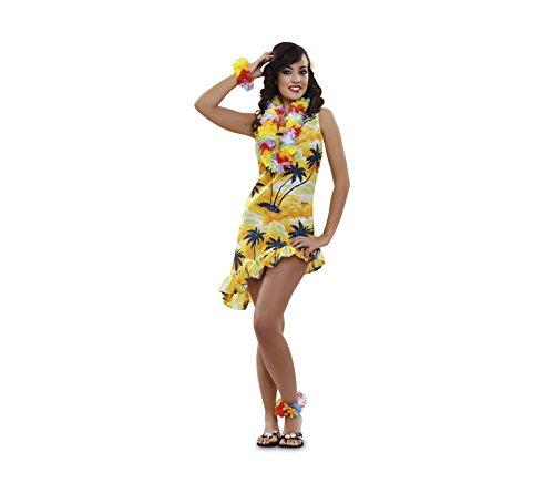 Imagen de disfraz de hawaiana o turista para mujer talla m l