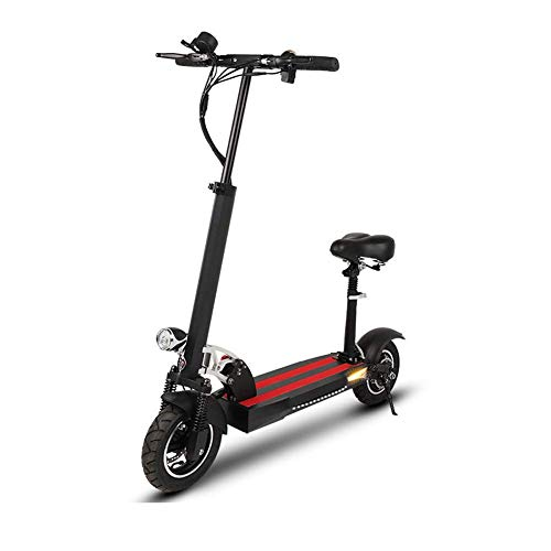 QIONGS Scooter eléctrico Scooter Adulto batería