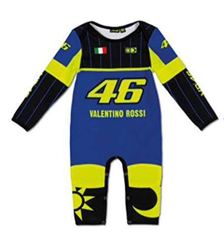 VR46 Turtle Pajamas FÜR Baby - Blau - 6 Monate -
