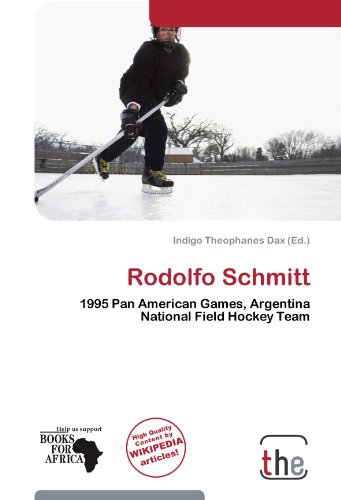 Rodolfo Schmitt: 1995 Pan American Games, Argentina National Field Hockey Team
