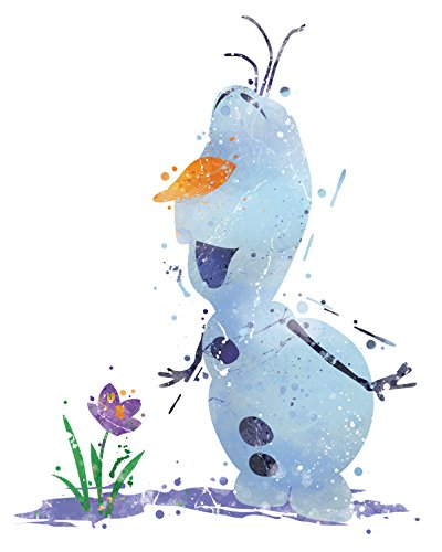 8x 10P17Frozen Olaf Poster. Inspiriert Watercolor Kunstdruck. Disney Frozen Olaf Poster. Mädchen Raum Wand Kunst. Kinder Kunst. Geburtstag Geschenk