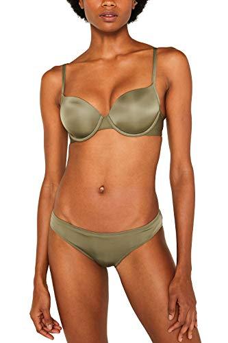 ESPRIT Damen Broome Fashion sexy pad BH, Grün (Olive 360), 80C(Herstellergröße: 80 C) Olive Pad