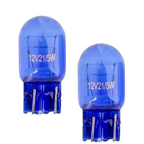 2x Stück - T20 - W21/5W - W3x16d - 21/5W - 12V - SUPER WHITE KFZ Beleuchtung Tagfahrlicht Glühlampe Glühbirne Soffitte Autolampen/chiavi