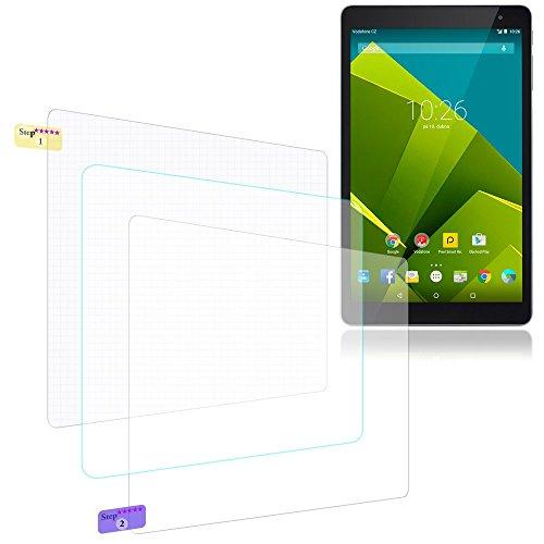 NAUC Bildschirmschutzfolie für Vodafone Tab Prime 6/7 Schutzfolie 3X klar Bildschirmschutz Universal