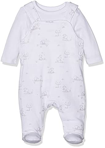 Mothercare Sheep Set, Body Mixte Bébé, Blanc, 0-3 Mois (Taille Fabricant:56)