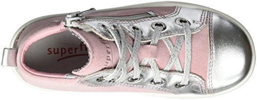 Superfit Marley, Sneakers basses fille Pink (lolly Kombi)