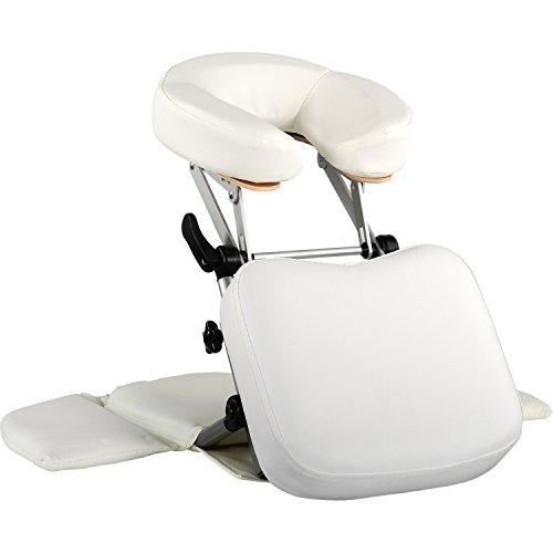 MOVIT Massage Tischaufsatz/mobile Kopfstütze, faltbarer Alu Rahmen, inkl. Tragetasche, schadstoffgeprüft