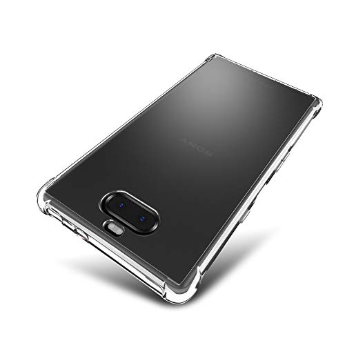 SLEO Hülle für Sony Xperia 10 Plus Hülle,Ultra Dünn TPU Schale Schutzhülle Clear Case Soft Cover für Sony Xperia 10 Plus (Ultra Slim - 1 mm) - Transparent