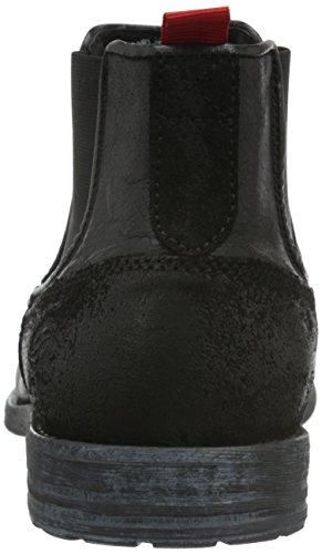 Dockers by Gerli Herren 39in001-182100 Chelsea Boots Schwarz (Schwarz 100)