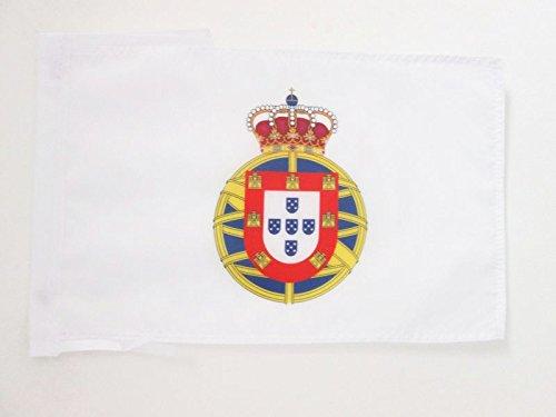 AZ FLAG Drapeau Empire Colonial PORTUGAIS 1415-2002 45x30cm - PAVILLON Portugal IMPÃ?Rial 30 x 45 cm Haute qualité