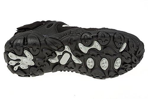 GIBRA® Trekking San Dalen, Très Confortable, noir/gris, Taille 36–41 Noir - Noir/gris