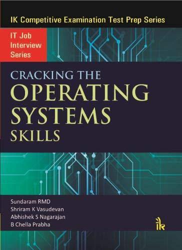 Cracking the Operating Systems Skills por Sundaram RMD