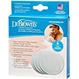 Dr. Brown's Washable Breast Pads - Pack Of 4 Pads