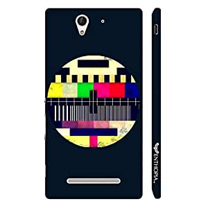 Sony Xperia C3 Abstract Art 9 designer mobile hard shell case by Enthopia