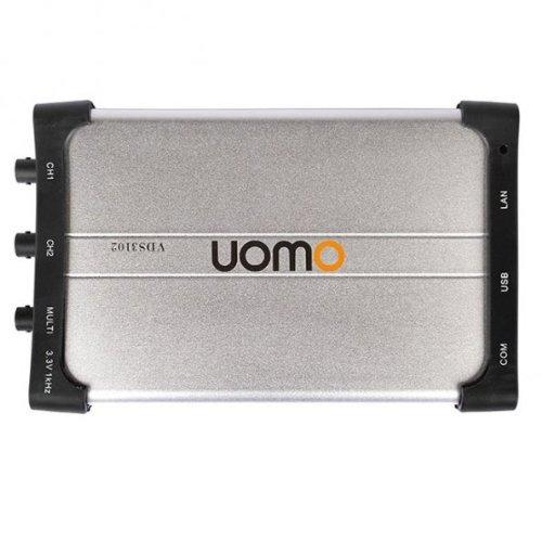 OWON VDS3102L USB+LAN Oszilloskop 2x 100 MHz 1GS/s Scope Oszi Osciloscop