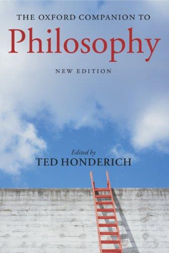 The Oxford Companion to Philosophy (Oxford Companions) (English Edition)