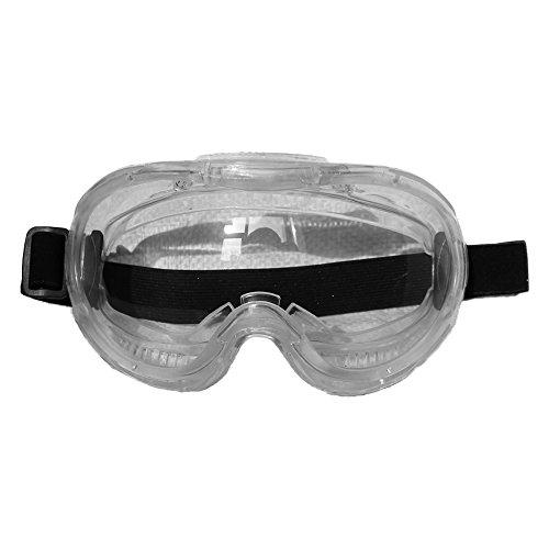 este Schutzbrille, vollständig versiegelt, Anti-Beschlag-Sicherheitsbrille, für traditionelle Techniker, spritzwassergeschützt, Anti-Wind/Sand/Spari, chemischer Spritzschutz ()