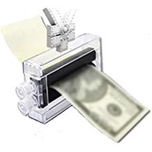 TianranRT Rompecabezas Niños Plástico Primer plano Magia Trucos sencillos Money Maker Imprimir Cambio Papel a Máquina