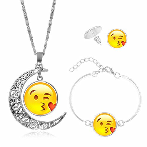 houda-pop-emoji-print-glass-cabochon-necklace-mood-expression-necklace-moon-face-pendant-necklace-se