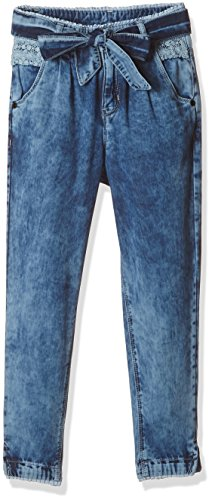 Gini and Jony Baby Girls' Jeans (122130522997 6000_Stone Wash (6000)_20)