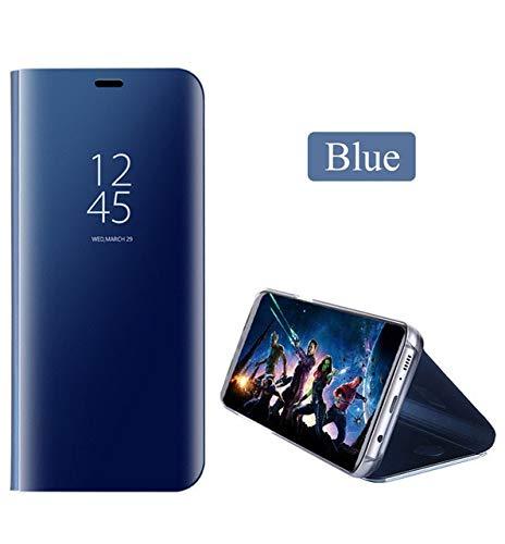 nKarta® Smart Mirror View Flip Flap Cover Case for Mi Note 4 - Ocean Blue