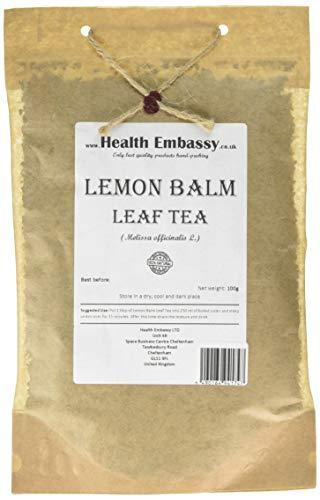 Health Embassy Lemon Balm Leaf (Melissa officinalis L), 100 g