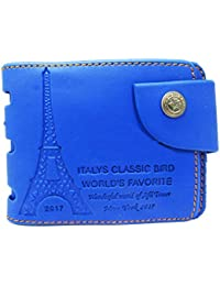Royal Blue Mens Pu Wallet. Wallet For Men And Boys.