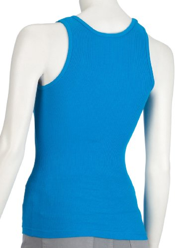 American Apparel  - Top smanicato, donna Turchese (Teal)