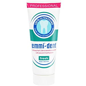 6x Emmi-dent Ultraschall Zahnpasta Fresh 75ml (6x 75ml)