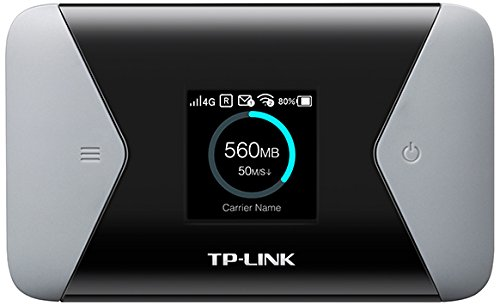TP-LINK 150Mbps 4G LTE-Advanced Mobile Wi-Fi internal 4G Modem SIM card slot 1.4 inch TFT screen display  2000mAH rechargeable b