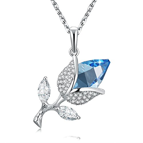sues-secret-fashion-design-immortal-love-women-necklace-with-ocean-blue-rose-shaped-swarovski-crysta