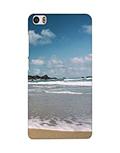 Mobifry Back case cover for Xiaomi Mi Note Mobile ( Printed design)
