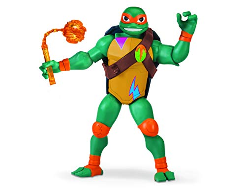 Turtles tuab3310Michelangelo die Rise of Giant Action Figur ()