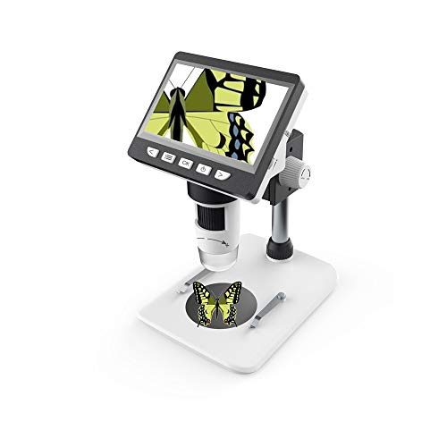KKmoon Microscope Numérique, Écran LCD HD 4,3 Pouces Microscope...