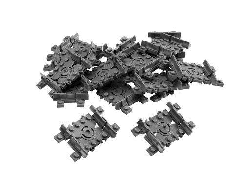16er Set LEGO Eisenbahn Flex-Schienen