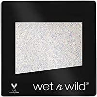 Wet n Wild Color Icon Glitter (Bleached) - Sombra de ojos Individual, Brillante, Larga Duración, Textura Suave - 1 unidad - 1.5gr
