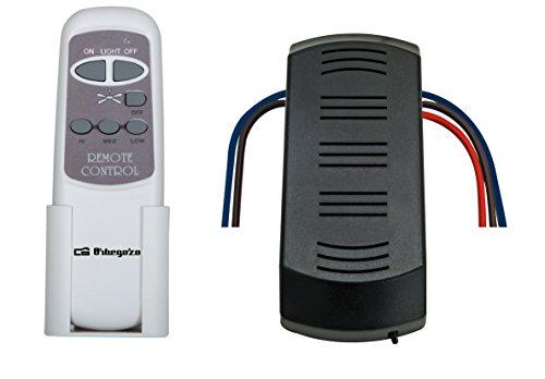 Orbegozo RCM 8250 - Kit mando a distancia para ventilador techo