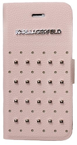 karl-lagerfeld-trendy-gun-metal-studs-booktype-cover-case-for-iphone-5-5s-pink