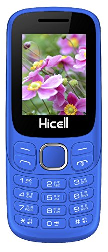 Hicell C9 Metro Dual Sim Mobile Phone With Digital Camera And 1.8 Inch Screen (Navy Blue Black)