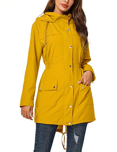 Chubasquero amarillo mujer marinero