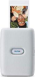 instax Link smartphone printer, Ash White