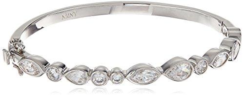 nicole-miller-pear-marquise-hinge-rhodium-bangle-bracelet
